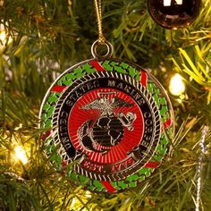 Marine Corps Christmas Ornament Coins For Anything, Inc.