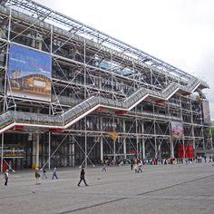 Centre Pompidou, Parijs