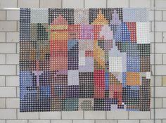 Nespresso Art door Ellen van Steen, gezien op de eindejaars expositie bij De Ploeg in Bergeijk. http://www.rietveldenruys.nl/page.php?id=128