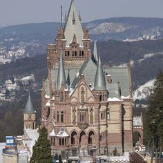 Drachenburg Castle is a castle-like estate on the Drachenfels in Königswinter, whose foundation stone was laid in 1882. In 1986 Drachenburg Castle was declared cultural heritage