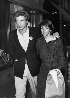 Harrison Ford and Mary Marquardt