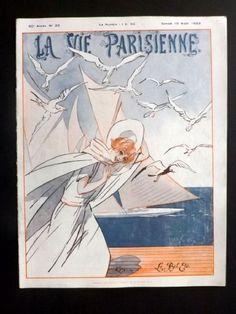 René Préjelan. La Vie Parisienne, 19 Août 1922. [Pinned 26-iii-2015]