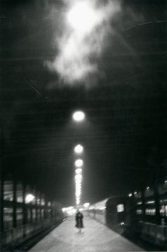 """""""Penn Station"""" (1958).   Louis Stettner, All Rights Reserved, via Benrubi Gallery, NYC"""