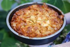 gâteau aux pommes No Cook Desserts, Sweets Recipes, Apple Recipes, Great Recipes, Cooking Recipes, Favorite Recipes, Healthy Meals To Cook, Healthy Recipes, Macarons