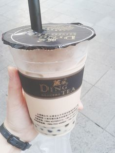 Ding Tea ...i dont know what this tastes like or where to buy it but it looks yummy
