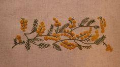 ミモザの刺繍| ウーマンエキサイト みんなの投稿