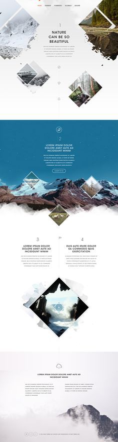 Inspired by Nature on Behance  By Bart Ebbekink   ( bartebbekink@behance )