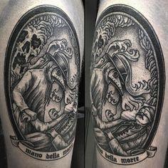 Tattoo by @misterpaterson #blackworkers #tattoo #bw #blackwork #blacktattoo