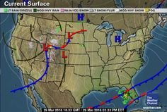 The Weather Channel National And Local Weather Forecast - Current weather map for us