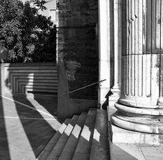 carlo scarpa / università di venezia (a sinistra) e chiesa san nicola dei tolentini (a destra)