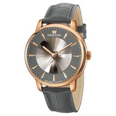 Atlantis Limited Edition Automatic Men's Watch, Leather strap, Gray, Rose-gold tone PVD Swarovski Gifts, Swarovski Jewelry, Stylish Watches, Casual Watches, Tissot Mens Watch, Automatic Watches For Men, Vintage Watches For Men, Mens Watches Leather, Leather Watch Bands