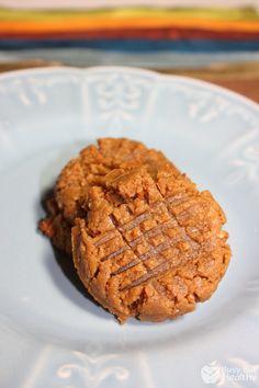 Peanut Butter Chickpea Cookies - grain-free, gluten-free, dairy-free, easy, kid-friendly.