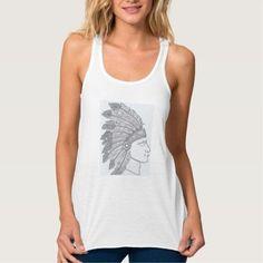 Camiseta Tiras Mandala Nid del Aguila-Blanca- Yoga  } Material: Camiseta de poliéster con tacto de algodón. Tela muy suave y fresca. Ilustración