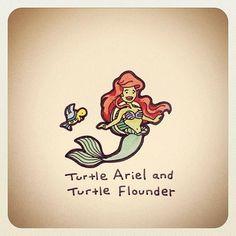 turtle-ariel-and-turtle-flounder-turtle-wayne.jpg 612×612 pixels