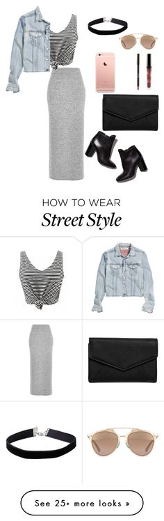 """NYC street style"" by alexandrinapetrova on Polyvore featuring River Island, H&M, Pierre Hardy, Miss Selfridge, LULUS and Christian Dior"