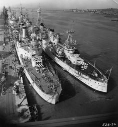 """New Post has been published onhttp://jcsnavy.alljc.co/?p=15714 """"The USS San Francisco (CA 38) is forward of the USS Tuscaloosa (CA 37) on the left and the USS Houston (CA 30) is forward of the USS Chicago (CA 29) at Mare Island Navy Yard between Nov..."""