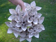 Harry Potter Origami Paper Flower Bouquet. Custom by TreeTownPaper, $38.00