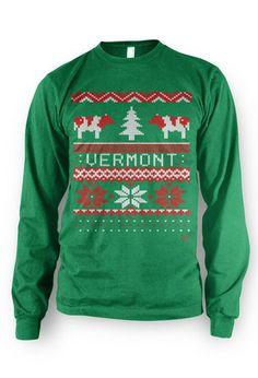 Burlington Vermont Sweatshirt USA made Vintage inspired Camels Hump A3pFCiog