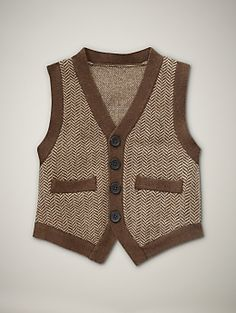 Adorable boys vest