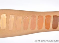 vichy dermablend sos cover stick swatches