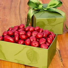 Chocolate Covered Cherries - A luxurious tasty gift - northwest cherries are smother in delectable chocolate.