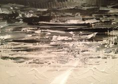 Mar Gris Oil on canvas