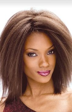 """AFRO KINKY WEAVE 6""""  (Available Lengths : 6"""")  (Available Colors : P1B/27)"""