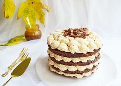 Tort cu caramel sarat si ciocolata