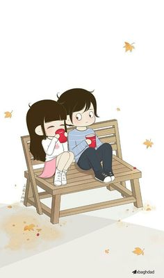 ⚡ BABE, just a heads up. if I don't write it's most likely that I'm switching phones or maybe I destroyed this one with a sledgehammer. Love Cartoon Couple, Chibi Couple, Cute Cartoon Pictures, Cute Couple Art, Cute Love Cartoons, Anime Love Couple, Cute Anime Couples, Cute Couple Wallpaper, Cute Love Images