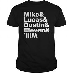 I Love Mike Lucas Dustin Shirts & Tees