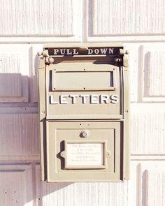 "Letter box, art print, mail box, love letters, post cards, packages, post office, vintage, antique, pastel, fine art photograph 8""x10"""