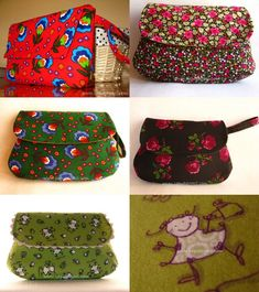 Craft Bags, Diy Bags, Pouch, Wallet, Vera Bradley Backpack, Handmade Crafts, Diy Clothes, Flannel, Sunglasses Case