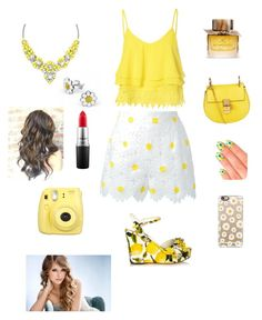 """""""Untitled #10"""" by soeshnicooray ❤ liked on Polyvore featuring Glamorous, Dolce&Gabbana, Chloé, MAC Cosmetics, Burberry, Elegant Touch and Casetify"""