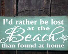 BEACH SIGN beach decor I love you to the by ThePeculiarPelican