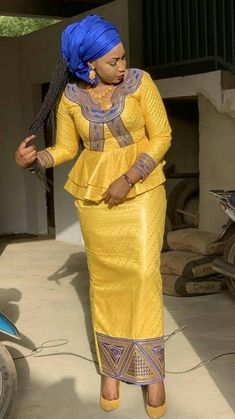 Bazin Couture africaine Des femmes africaines Les ... - #africaine #africaines #... - #africaine #africaines #bazin #Couture #Des #femmes #les