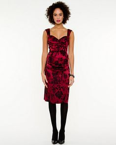 Floral+Print+Cocktail+Dress