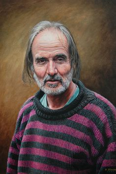 Portrait Of Roger by David Stooke