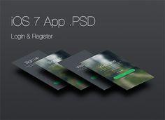 Dark iOS 7 Login and Register Screen Apps - http://www.welovesolo.com/dark-ios-7-login-and-register-screen-apps/