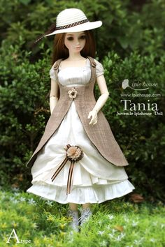 Tania by Iple House doll - juvenile ball-jointed porcelain doll