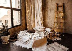 The Loft, Photography Studio Decor, Bohemian Studio, Studio Bed, Casa Loft, Garage Studio, Bed Photos, Decoration, Cozy