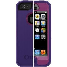 Amazon.com: OtterBox Defender Series Case for iPhone 5 - Retail Packaging - Boom: Cell Phones & Accessories