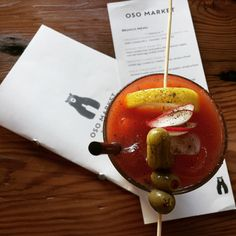 Mango & Tomato: Eating Out In Portland: Oso And Blue Star. Bloody Mary.