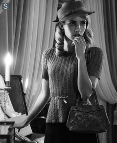 Emma Roberts in American horror story is one of ,y favorite style inspirations
