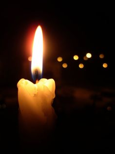 One candle in the dark shines s light for many