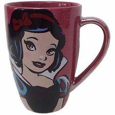 disney parks princess snow white quotes ceramic coffee mug new