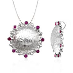 All new Ruby Pendant  is here to capture all your attention. We are sure you won't be able to get your eyes off this finest quality 925 sterling silver inspiring Pendant which has glittering red as its main gemstone. Add this Pendant to your assortment of  jewelry wardrobe and flaunt its beauty.
