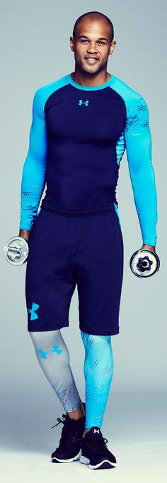 Get him geared up for major gains with gym essentials from Under Armour