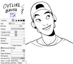 Lately people have been asking about my brush settings for drawing, which I haven't updated in my FAQ since… 2013? Idk, but anyway here are the ones I've been using the most these days. *(Take into account that I change a lot the density of all of... Digital Painting Tutorials, Digital Art Tutorial, Painting Tools, Art Tutorials, Drawing Tips, Drawing Reference, Drawing Techniques, Paint Tool Sai Tutorial, Sai Brushes