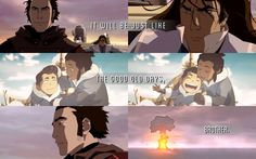 I love these bloodbending brothers. Noatak/Amon and Tarrlok.  That last episode. Makes my heart bleed.