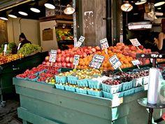 Cherries at Pike Place Market Pike Place Market, Seattle Times, Cherries, Washington State, Maraschino Cherries, Washington, Cherry